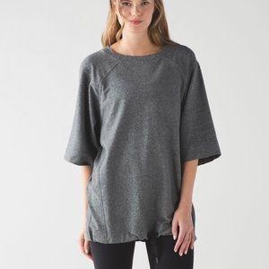 Lululemon Split Short Sleeve Sweatshirt